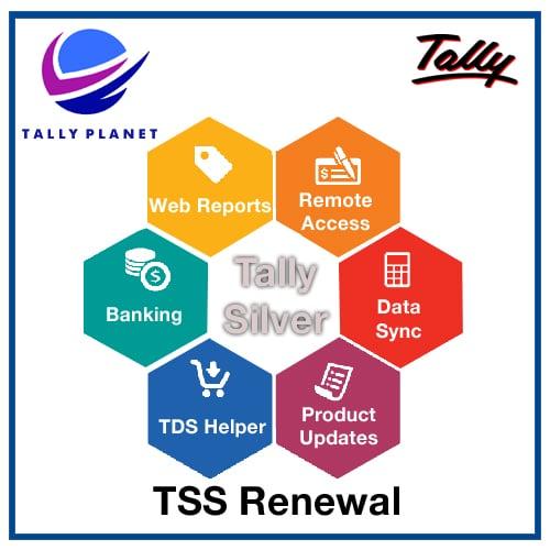 Price Of Tss Subscription Tally Silver Tss Tns Tally Erp 9