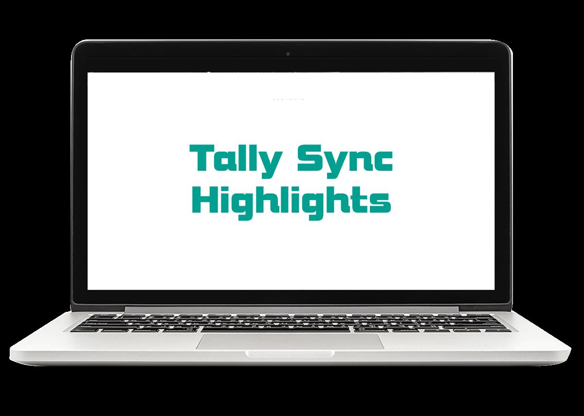 Tally-sync-highlights