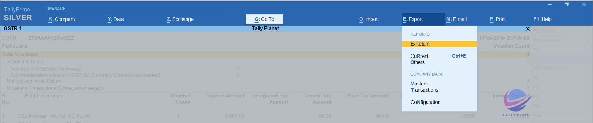 how-to-export-gstr-1-from-tally-prime
